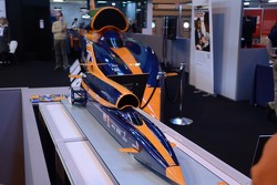 Bloodhound SSC model with full sized replica