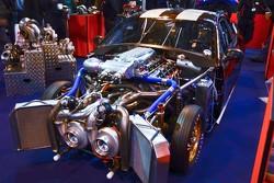 Twin Turbo Mustang dragcar