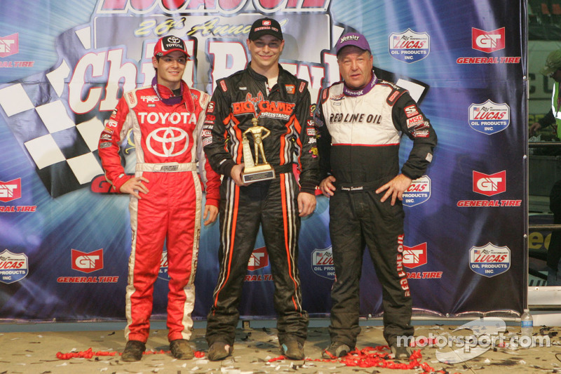 Kyle Larson, Kevin Swindell en Sammy Swindell