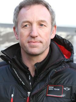 Dave Wilcock, team principal, MINI WRC TEAM