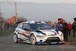 Francois Delecour en Dominique Savignoni, Ford Fiesta RS WRC, M-Sport Ford World Rally Team