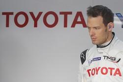 Александр Вурц. Презентация Toyota Hybrid LMP1, тесты в среду.