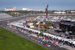 Saturday pre-race