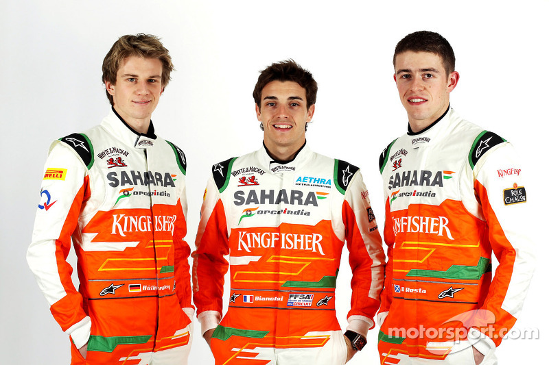 Force India, primer equipo de Bianchi en F1