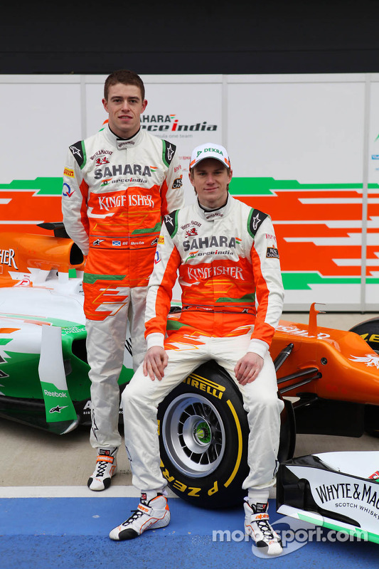 Nico Hülkenberg und Paul di Resta, Sahara Force India F1 Team