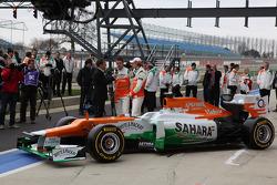 Презентация Sahara Force India VJM05, Презентация.