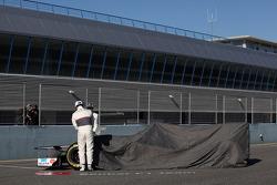 Sergio Perez, Sauber F1 Team ve Kamui Kobayashi, Sauber F1 Team