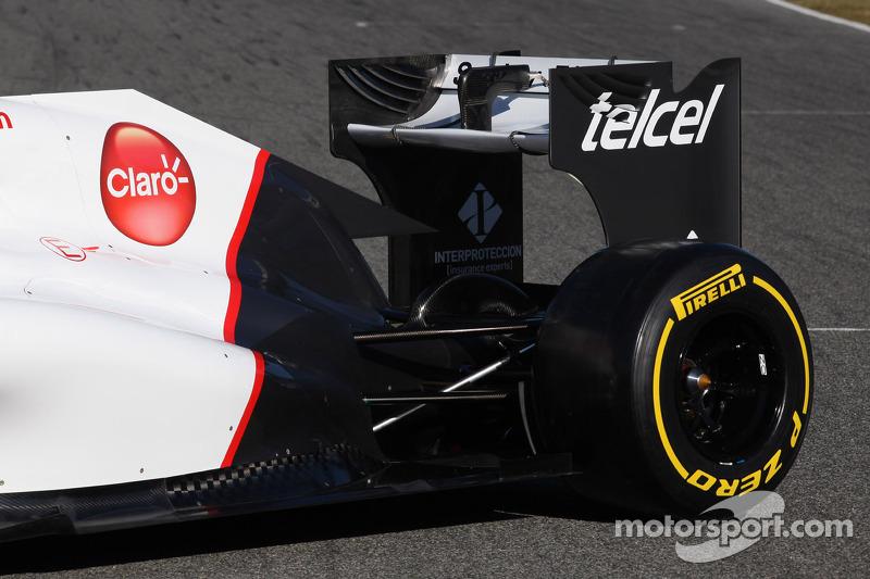 Sauber C31 Ferrari voorstelling