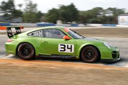 #34 Green Hornet Racing Porsche 911 GT3 Cup: Peter LaSaffre