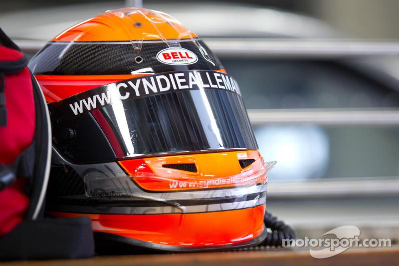 Helm van Cyndie Allemann