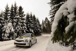 Daniel Oliveira and Carlos Magalhaes, Subaru Impreza