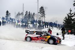 Mikko Hirvonen and Jarmo Lehtinen, Citroën DS3 WRC, Citroën Total World Rally Team
