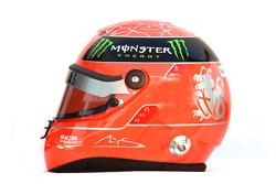 Michael Schumacher, Mercedes GP Petronas F1 Team , kask