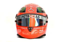 Casque Michael Schumacher, Mercedes GP Petronas F1 Team