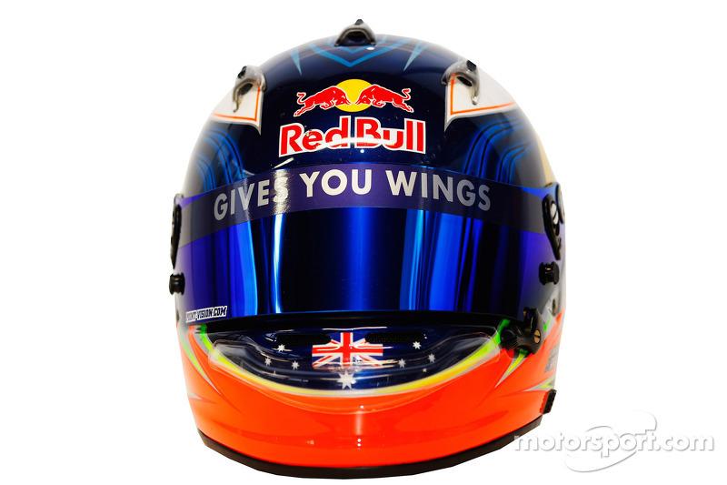 Daniel Ricciardo, Scuderia Toro Rosso helmet