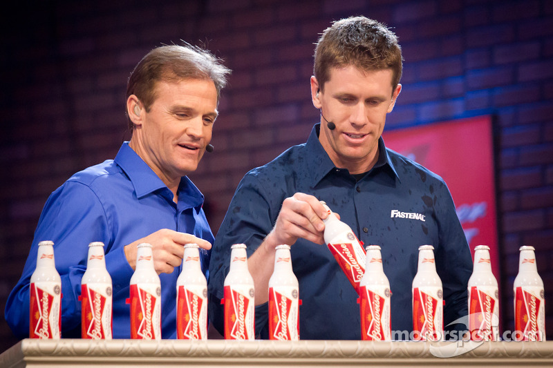 Kenny Wallace and Carl Edwards, Roush Fenway Racing Ford