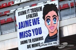 Fans of Jaime Alguersuari