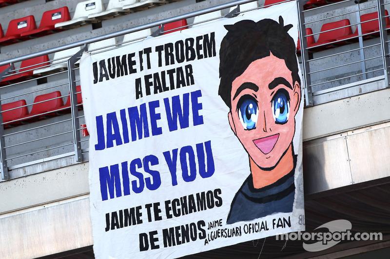 Fans van Jaime Alguersuari