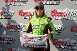 Ganadora de la pole, Danica Patrick, JR Motorsports Chevrolet