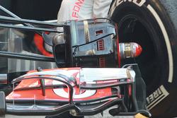 Lewis Hamilton, McLaren Mercedes front brake