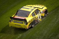 Brian Scott, Joe Gibbs Racing Toyota in the grass