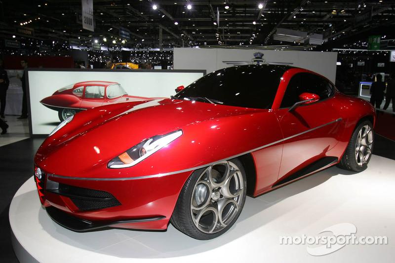 Touring Alfa Romeo Disco Volante At Geneva International Auto Show
