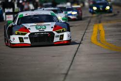 #23 Alex Job Racing Audi R8 LMS GT3: Білл Свідлер, Тоунсвенд Белл, Френкі Монтекалво