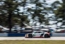 №23 Alex Job Racing Audi R8 LMS GT3: Билл Суидлер, Таунсенд Белл, Фрэнки Монтекальво
