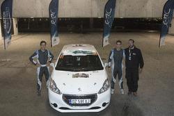 Marcos ESPINO, Rogelio LOPEZ, Peugeot 208 R2