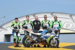 #48 BMW: Stefan Kerschbaumer, Jan Bühn, Lucy Glöckner, Dominik Vincon takım fotoğrafı