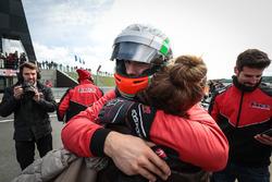 Third place Alfonso Celis Jr., Fortec Motorsports