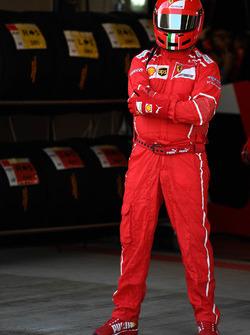 Ferrari mechanic