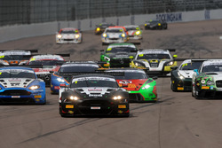 Start, Derek Johnston, Jonny Adam, TF Sport Aston Martin Vantage GT3 lider