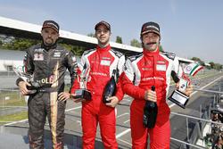 Petr Fulin, Seat Leon, Fulin Motorsport; Christ-Johannes Schreiber, Honda Civic, RIkli Motorsport; Peter Rikli, Honda Civic, RIkli Motorsport