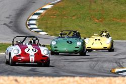 #70 1961 Porsche 356b Vic Skirmants  #0 1960 Porsche 356b George F. Balbach  #90 1961 356 rdstr Mike Zubco