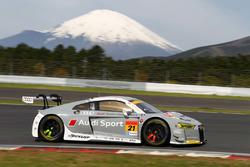 #21 Hitotsuyama Audi R8 LMS:リチャード・ライアン, 柳田真孝