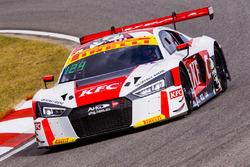 #124 Audi R8 LMS: Gary Higgon, Daniel Gaunt