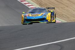 #39 Kessel Racing TP12 Ferrari 488 GT3: Piti Bhirombhakdi, Carlo Van Dam