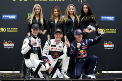 Подіум: переможець Маттіас Екстрьом, EKS, Audi S1 EKS RX Quattro, друге місце Йохан Крістофферссон, PSRX Volkswagen Sweden, VW Polo GTi, третє місце Тіммі Хансен, Team Peugeot-Hansen, Peugeot 208 WRX