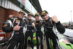 Yarış galibi Christian Engelhart, Mirko Bortolotti, GRT Grasser Racing Team, 3. Ezequiel Perez Companc, Norbert Siedler, GRT Grasser Racing Team