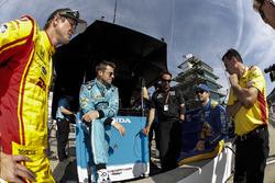 Ryan Hunter-Reay, Andretti Autosport, Honda; Marco Andretti, Andretti Autosport, Honda; Bryan Herta Alexander Rossi, Herta - Andretti Autosport, Honda