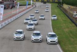 Start, #89 Ekrem Vardar, Opel Corsa Opc, #10 M. Ali Baldener, Opel Corsa Opc, #53 Alkan Güven, Opel Corsa Opc