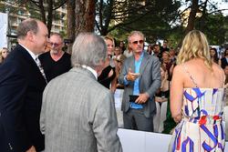 HSH Prince Albert of Monaco, Jackie Stewart, and Eddie Irvine,