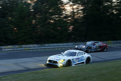 #1 Black Falcon, Mercedes-AMG GT3: Маро Энгель, Адам Христодулу, Иэлмен Бурман, Мануэль Мецгер, Тобиас Нойзер