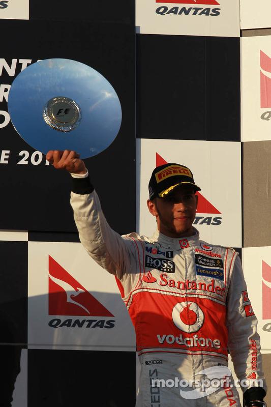Tercer lugar Lewis Hamilton, McLaren Mercedes
