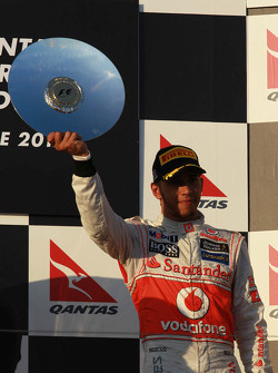 3rd place Lewis Hamilton, McLaren Mercedes