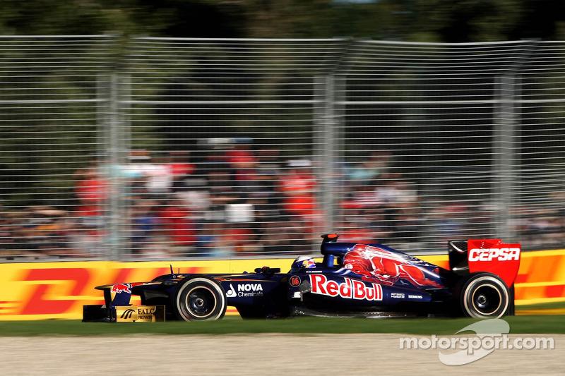 2012 - Grand Prix von Australien: Daniel Ricciardo, Scuderia Toro Rosso STR7