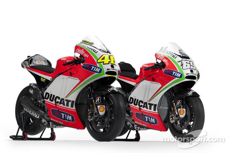 2012: Desmosedici GP12 (Валентино Росси и Ники Хейден)
