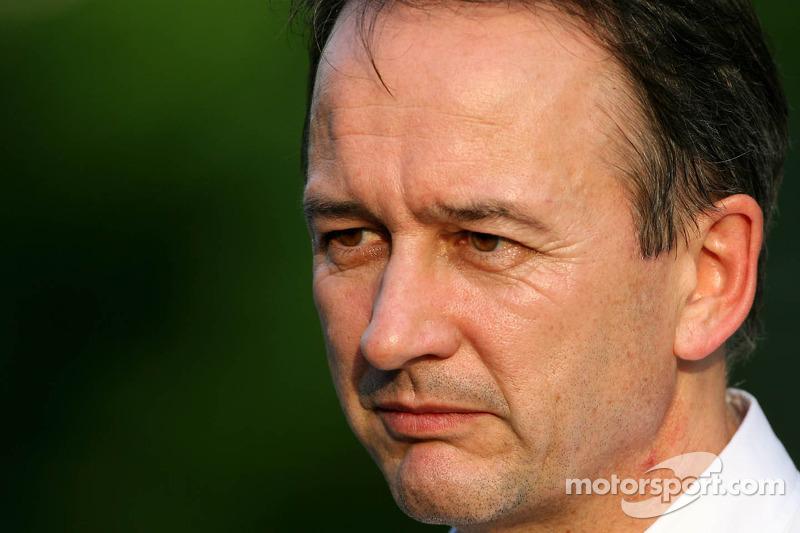 Jonathan Neale, operation director, McLaren Mercedes Mercedes