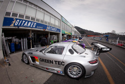 #52 Green Tec & Leaon Racing Team Mercedes-Benz SLS AMG GT3
